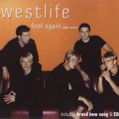Coverafbeelding Fool Again - 2000 Remix - Westlife