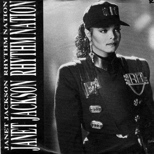 Coverafbeelding Rhythm Nation - Janet Jackson