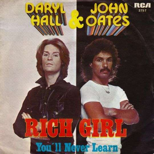 Coverafbeelding Daryl Hall & John Oates - Rich Girl