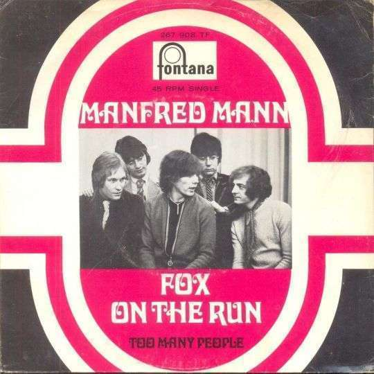 Coverafbeelding Fox On The Run - Manfred Mann