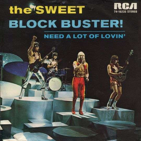 Coverafbeelding Block Buster! - The Sweet