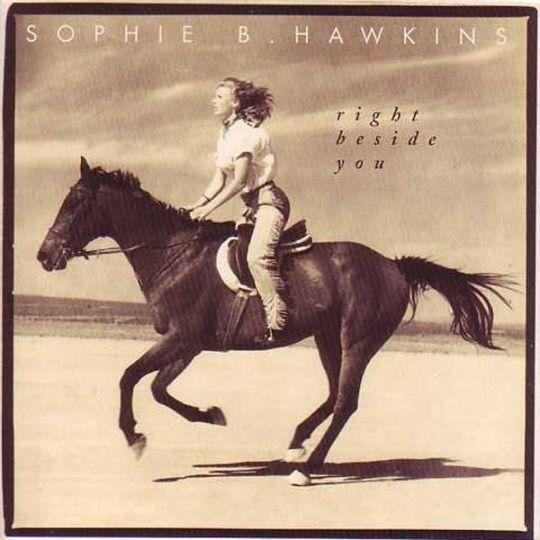 Coverafbeelding Right Beside You - Sophie B. Hawkins