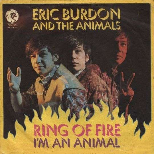 Coverafbeelding Ring Of Fire - Eric Burdon And The Animals
