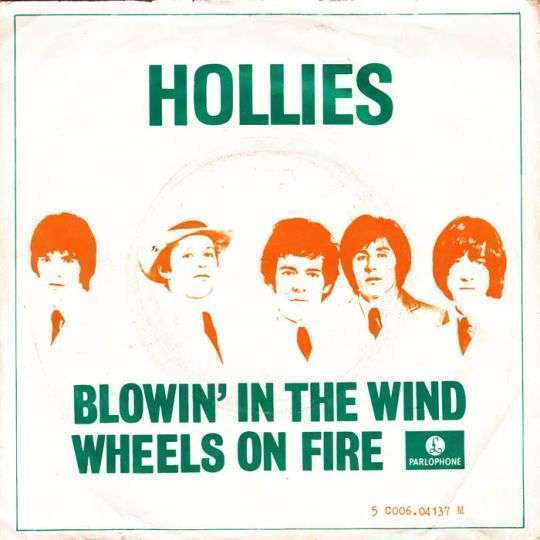 Coverafbeelding Hollies - Blowin' In The Wind