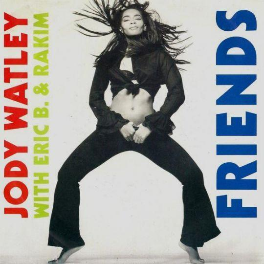 Coverafbeelding Friends - Jody Watley With Eric B. & Rakim