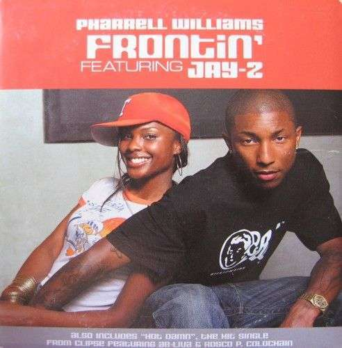 Coverafbeelding Pharrell Williams featuring Jay-Z - Frontin'