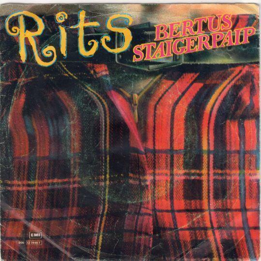 Coverafbeelding Rits - Bertus Staigerpaip