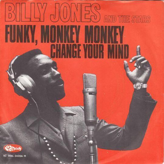 Coverafbeelding Funky, Monkey Monkey - Billy Jones And The Stars