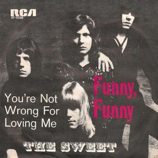Coverafbeelding Funny, Funny - The Sweet