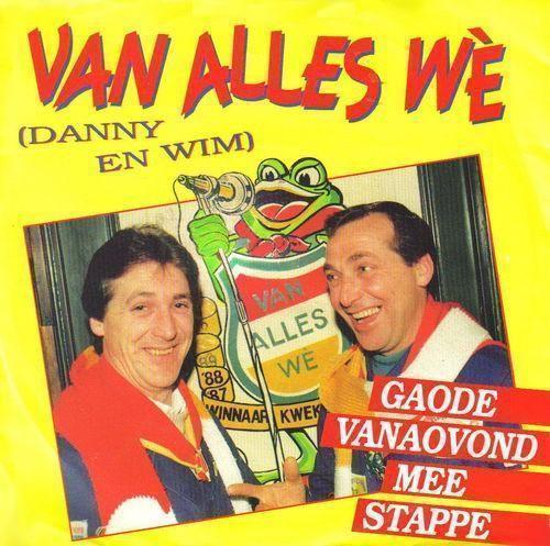 Coverafbeelding Van Alles Wè (Danny en Wim) - Gaode Vanaovond Mee Stappe