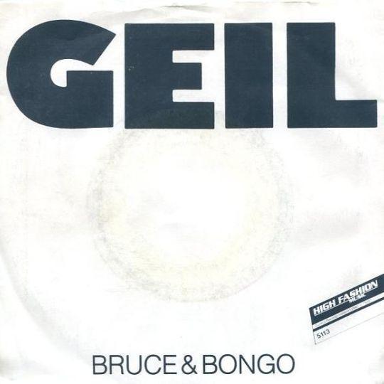 Coverafbeelding Bruce & Bongo - Geil