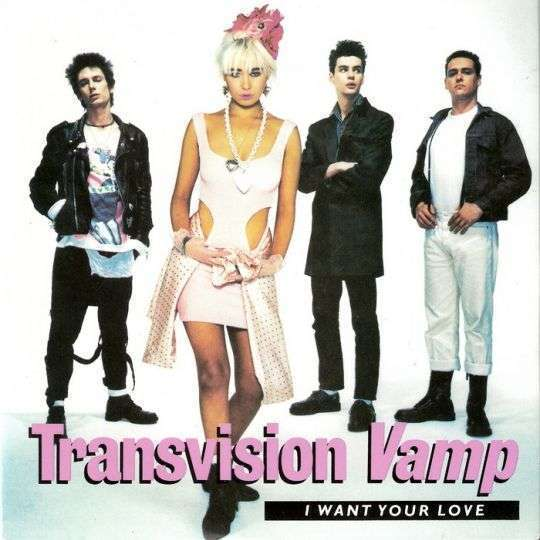 Coverafbeelding Transvision Vamp - I Want Your Love