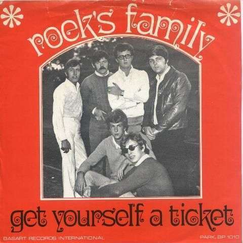 Coverafbeelding Get Yourself A Ticket - Roek's Family
