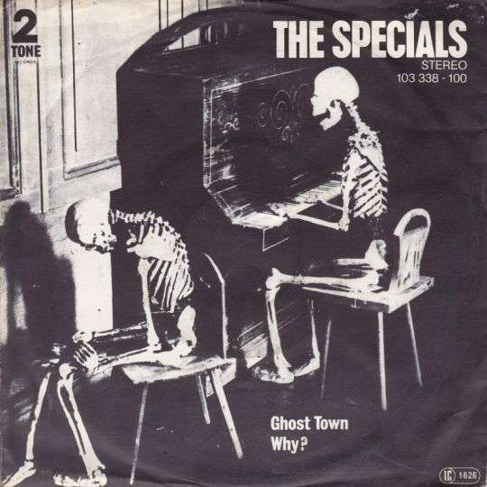 Coverafbeelding The Specials ((GBR)) - Ghost Town