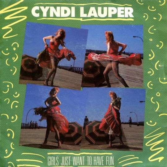 Coverafbeelding Girls Just Want To Have Fun - Cyndi Lauper