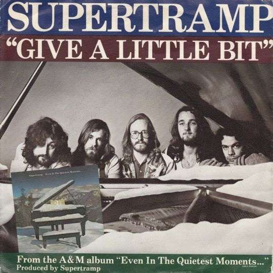 Coverafbeelding Give A Little Bit - Supertramp