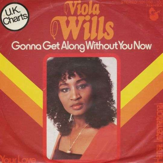 Coverafbeelding Viola Wills - Gonna Get Along Without You Now