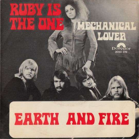 Coverafbeelding Earth and Fire - Ruby Is The One
