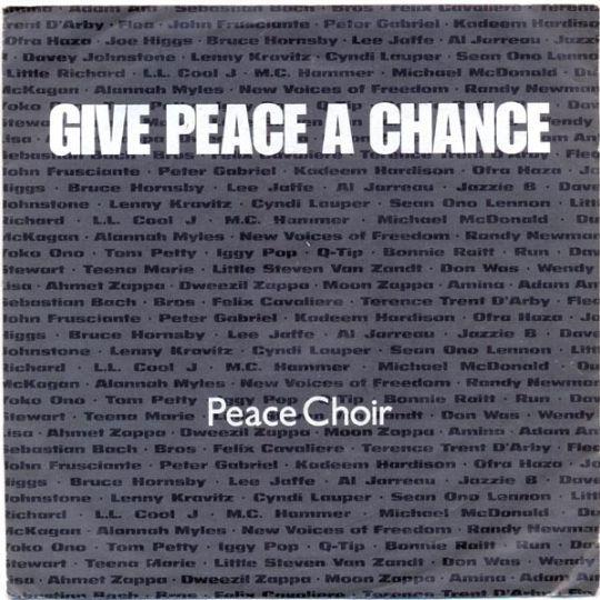 Coverafbeelding Peace Choir - Give Peace A Chance