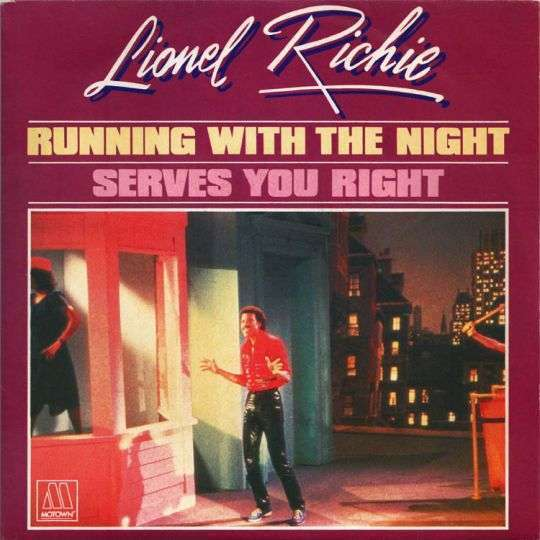 Coverafbeelding Running With The Night - Lionel Richie