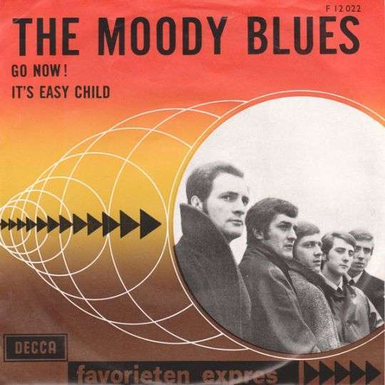 Coverafbeelding The Moody Blues - Go Now!