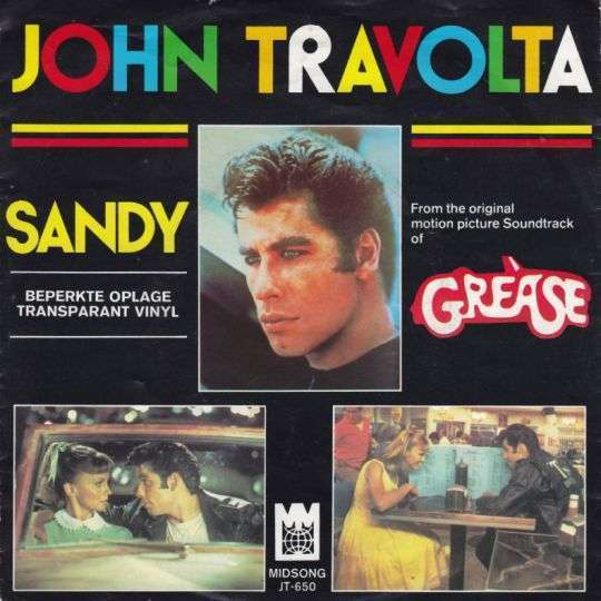 Coverafbeelding Sandy - John Travolta