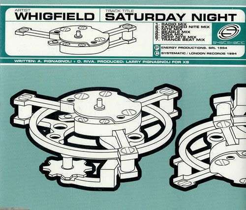Coverafbeelding Saturday Night - Whigfield