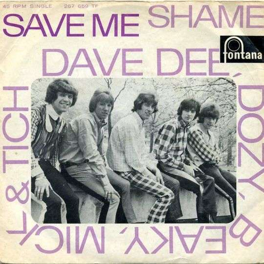Coverafbeelding Save Me - Dave Dee, Dozy, Beaky, Mick & Tich