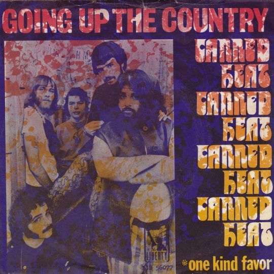 Coverafbeelding Going Up The Country - Canned Heat