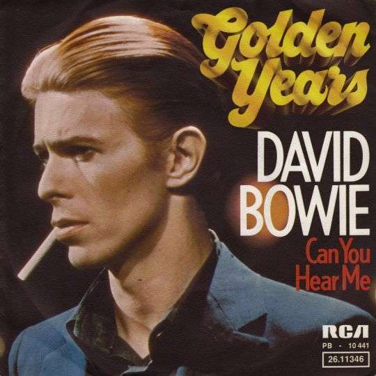 Coverafbeelding Golden Years - David Bowie
