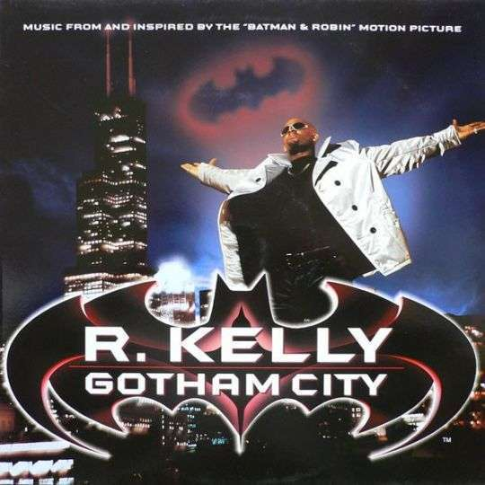 Coverafbeelding R. Kelly - Gotham City