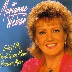 Coverafbeelding Schrijf Me Nooit Geen Mooie Brieven Meer - Marianne Weber