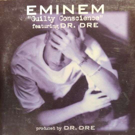 Coverafbeelding Eminem featuring Dr. Dre - Guilty Conscience