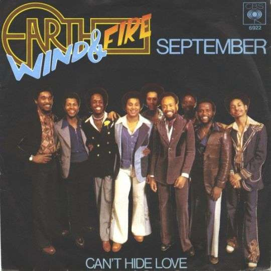 Coverafbeelding September - Earth Wind & Fire
