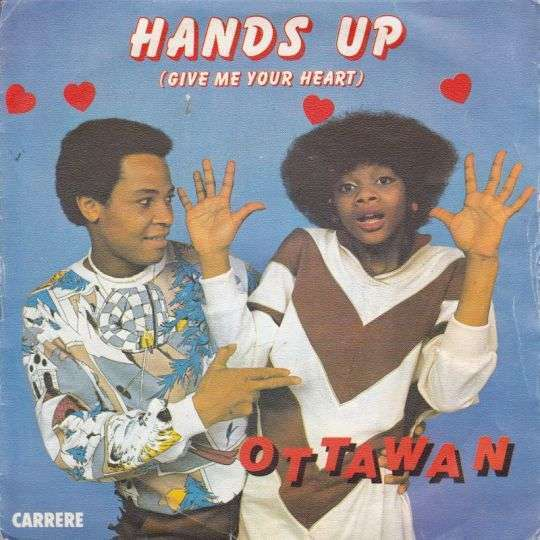 Coverafbeelding Ottawan - Hands Up (Give Me Your Heart)