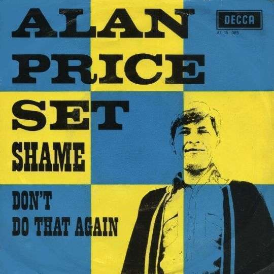 Coverafbeelding Shame - Alan Price Set