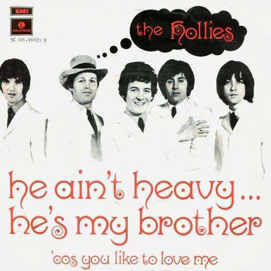Coverafbeelding He Ain't Heavy ... He's My Brother - The Hollies
