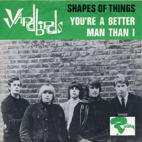 Coverafbeelding Shapes Of Things - Yardbirds