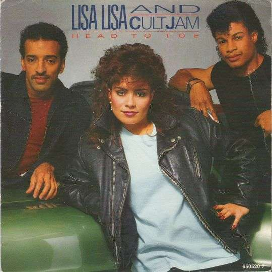 Coverafbeelding Head To Toe - Lisa Lisa And Cult Jam