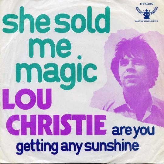 Coverafbeelding She Sold Me Magic - Lou Christie