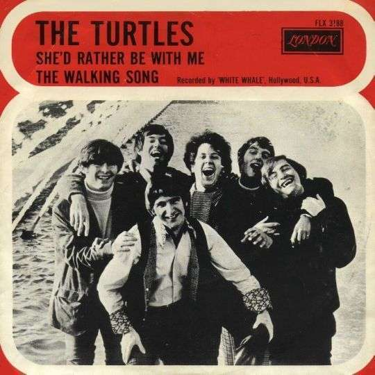 Coverafbeelding She'd Rather Be With Me - The Turtles