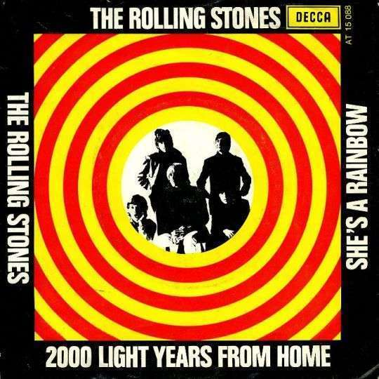 Coverafbeelding 2000 Light Years From Home/ She's A Rainbow - The Rolling Stones