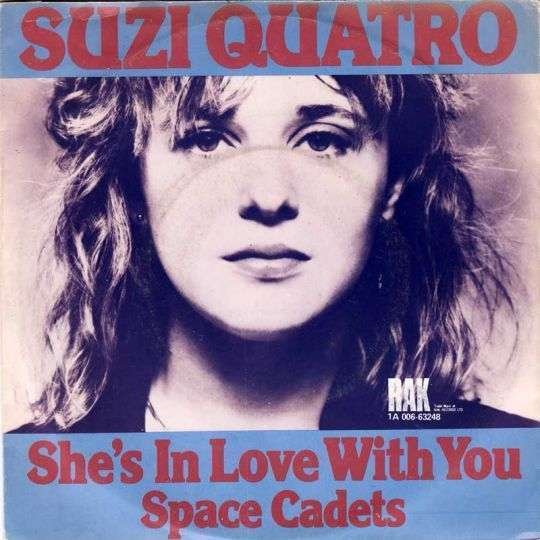 Coverafbeelding Suzi Quatro - She's In Love With You