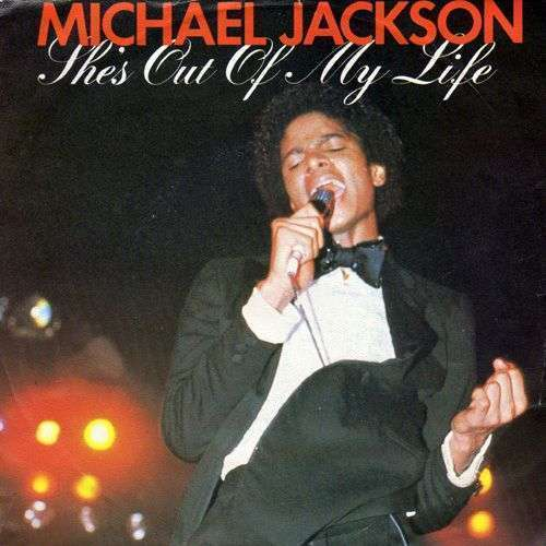 Coverafbeelding She's Out Of My Life - Michael Jackson