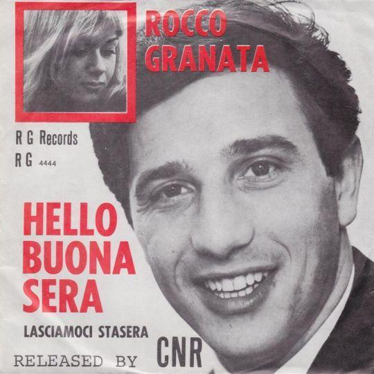 Coverafbeelding Hello Buona Sera - Rocco Granata