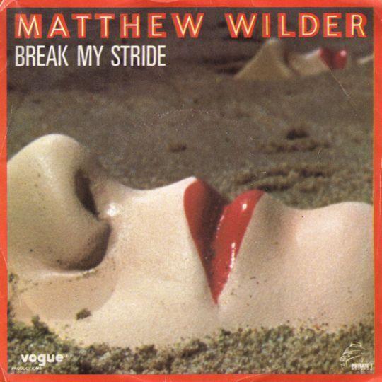 Coverafbeelding Matthew Wilder - Break My Stride
