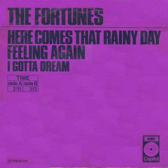Coverafbeelding The Fortunes - Here Comes That Rainy Day Feeling Again