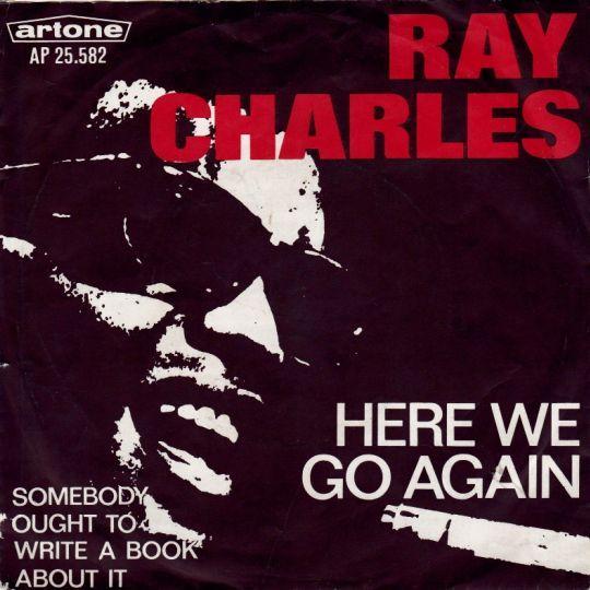 Coverafbeelding Here We Go Again - Ray Charles