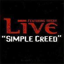 Coverafbeelding Simple Creed - Live Featuring Tricky