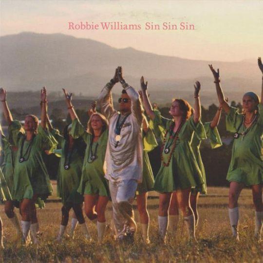 Coverafbeelding Robbie Williams - Sin Sin Sin